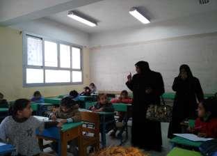 2605 طلاب بالصف الأول الثانوي يؤدون امتحان اللغة العربية في شمال سيناء