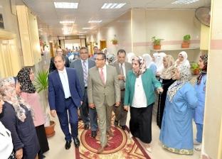 افتتاح وحدة العلاج التلطيفي بقسم علاج الأورام في جامعة المنصورة