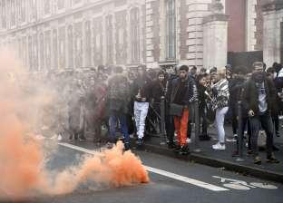 عاجل  قوات الأمن الفرنسية تنشر 14 سيارة مدرعة في باريس