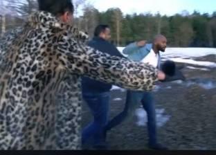 بالفيديو| شيكابالا يلقن رامز جلال علقة ساخنة بعد كشف المقلب