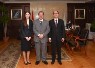محافظ الإسكندرية: علاقات قوية بين مصر وأوكرانيا في مجال السياحة