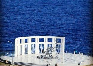 """النصب التذكاري لضحايا الطائرة """"فلاش اير"""" أحد معالم شرم الشيخ السياحية"""