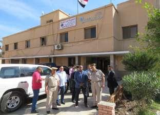 بالصور| مدير أمن الغربية يتفقد الخدمات في مركز شرطة قطور