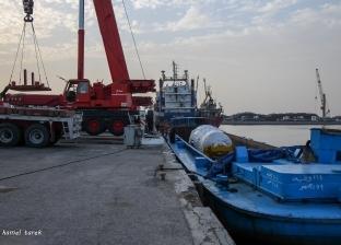 178115 طن قمح رصيد صومعة الحبوب والغلال في ميناء دمياط