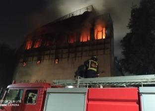 """صاحب بلاغ الحريق.. محمد جار """"الأنبا بولا"""": مشهد مفزع ونساعد في الإطفاء"""