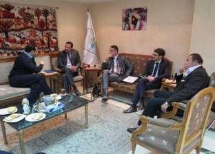 """تحت عنوان """"تمكين المرأة المصرية"""".. عمرو حسن يلتقي وفد الاتحاد الأوروبي"""