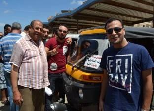 ضبط مركبات مخالفة وباعة جائلين في حملات غرب الأقصر