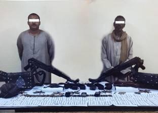 تنفيذ 76 ألف حكم قضائي وضبط 221 سلاحا ناريا في حملات أمنية
