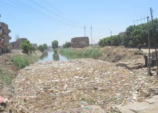 تطهير 66 كيلو مترا مصارف زراعية ومراوي في كفر الشيخ