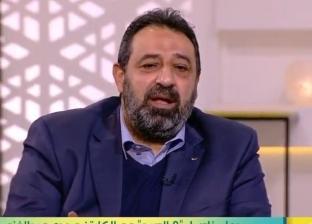 عبدالغني: اللي بيشتموني عارفين إن أبويا مات وأنا مش جنبه علشان الأهلي