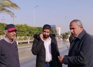 فتح الطريق الدولي بمدينة رأس سدر أمام حركة المرور