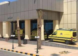 وفاة أول حالة بفيروس كورونا في مستشفى العلمين للعزل