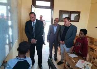 وكيل مديرية التعليم بجنوب سيناء يشيد بمستوي التعليم بوديان أبورديس
