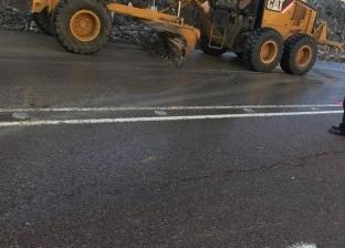 بالصور| إعادة فتح طريق «دهب - شرم الشيخ»