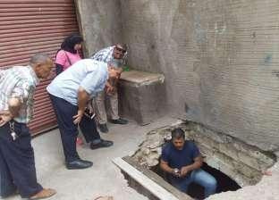 """""""آثار الإسكندرية"""" توضح حقيقة سرداب قصر طوسون: 3 أمتار تحت الأرض"""