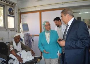 محافظ المنيا: تكثيف حملات المتابعة على وحدات الغسيل الكلوي