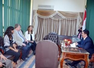 """محافظ القليوبية يشهد حفل تكريم خريجي برنامج """"ابدأ مشروعك"""""""