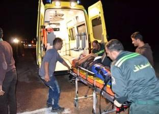 """إصابة 13 شخصا في حادث تصادم على طريق """"بلبيس – العاشر"""""""
