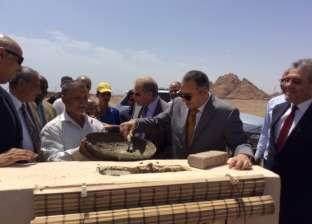 """وزير الإسكان ومحافظ القليوبية يتفقدان التشطيبات النهائية لـ""""توسعات مياه شبرا الخيمة"""""""