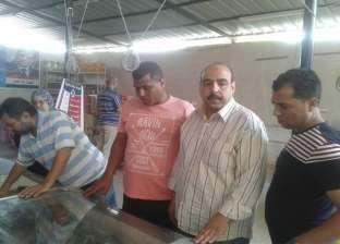 ضبط 25 قضية تموينية في حملات تموينية على سوق مدينة أسوان