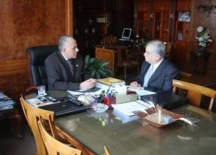 """وزير الري: منحة الصندوق الأخضر تحمي ساحل البحر المتوسط من """"النوات"""""""