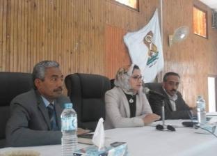 نائب محافظ الوادى الجديد تلتقي «شباب أهل مصر» بالداخلة