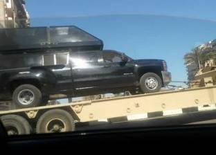 الجهات الأمنية تتسلم حي غرب ببورسعيد قبل زيارة السيسي