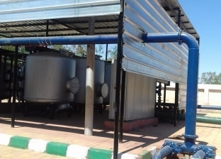 تطوير محطات مياه الشرب والصرف الصحي بالوادي الجديد