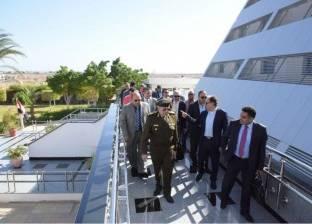 وزير الصحة يتفقد مستشفى شرم الشيخ الدولي