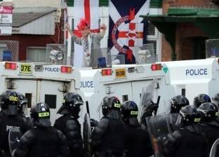 أعمال عنف لليلة السادسة في مدينة حدودية بإيرلندا الشمالية