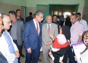 محافظ سوهاج يوجه بتوفير لبن الأطفال بمستشفى جزيرة شندويل