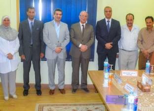 مجلس أمناء مكتبة مصر العامة بالمنيا يختار أعضاء لجنة تسيير الأعمال