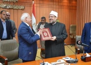 وزير الأوقاف يصل بورسعيد لافتتاح 3 مساجد بمناسبة العيد القومي للمحافظة