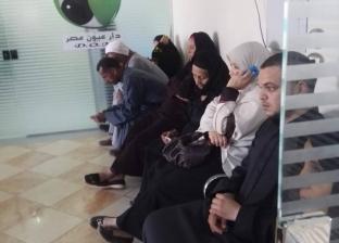 """""""مستقبل وطن"""" يجري 11 عملية جراحة """"عيون"""" مجانية في المنيا"""