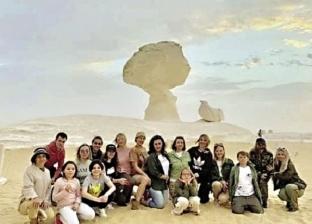 """تنشيط سياحة """"الصحراء البيضاء"""" برحلات سفارى وكريستال"""