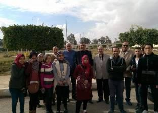 """""""السنجري"""" يلتقي طلاب المشروع القومي لإعداد قادة المستقبلبالإسماعيلية"""