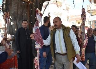 ضبط 4 أطنان رنجة وثلاجة لحوم غير صالحة في كفر الشيخ