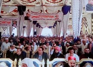 مؤتمر جماهيري لدعم السيسي في أبوالمطامير بالبحيرة