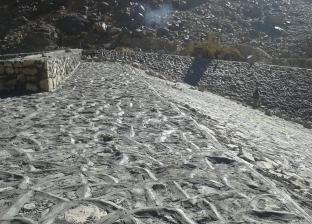 """""""المياه الجوفية بجنوب سيناء"""": 99% نسبة التنفيذ بسد وادي الأخضر"""