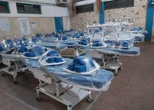 """90 ماكينة غسيل كلوي وسرير من صندوق """"تحيا مصر"""" لـ""""صحة الغربية"""""""