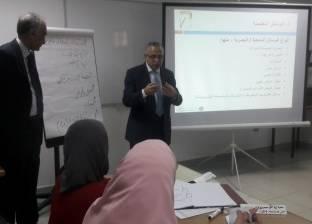 """نائب رئيس """"الأزهر"""" يفتتح برنامجا تدريبيا لتنمية مهارات الهيئة المعاونة"""