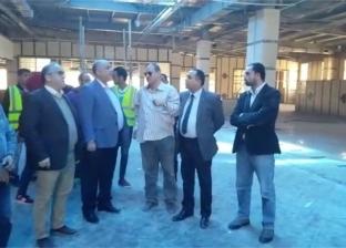 بالفيديو| رئيس مترو الأنفاق يتفقد المراحل النهائية من أعمال محطة المرج الجديدة