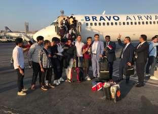 بالصور| بعد توقف 9 أعوام.. انطلاق أول رحلة طيران من «القاهرة ـ كييف»