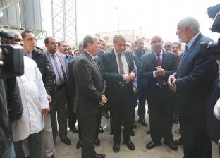 وزير التموين يفتتح محطة معالجة صرف صناعي في كفر الشيخ