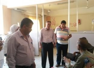 حملة تفتيشية على الوحدات الصحية والغسيل الكلوي في مطاي بالمنيا