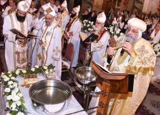البابا تواضروس: تدريب عيد الغطاس التوبة والإيمان بالإنجيل