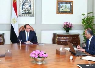 السيسي يجتمع برئيس الوزراء وطارق عامر لبحث برنامج الإصلاح الاقتصادي