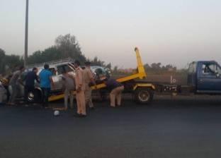 إصابة ربة منزل إثر اصطدام سيارة نقل بمنزلها في أسيوط