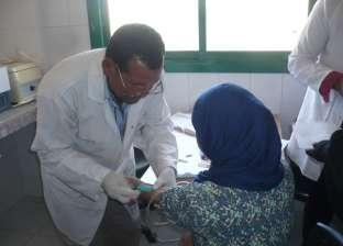 """""""صحة الجيزة"""": الكشف على 15 ألف مواطن بواسطة القوافل الطبية المجانية"""