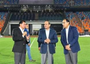 عاجل.. وصول الرئيس السيسي لافتتاح بطولة كأس العالم لليد